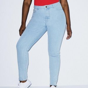 american apparel pencil jean
